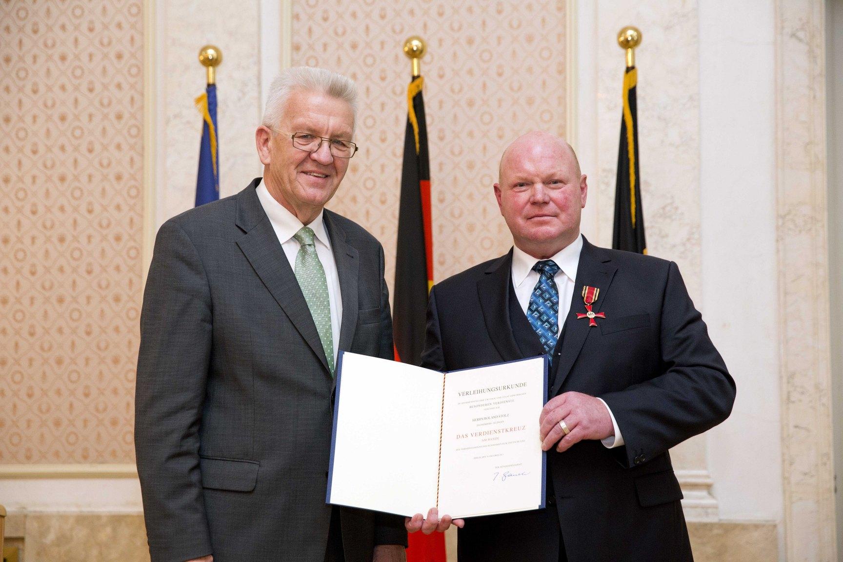 Bundesverdienstkreuz für den Vorsitzenden des JC Elchesheim-Illingen