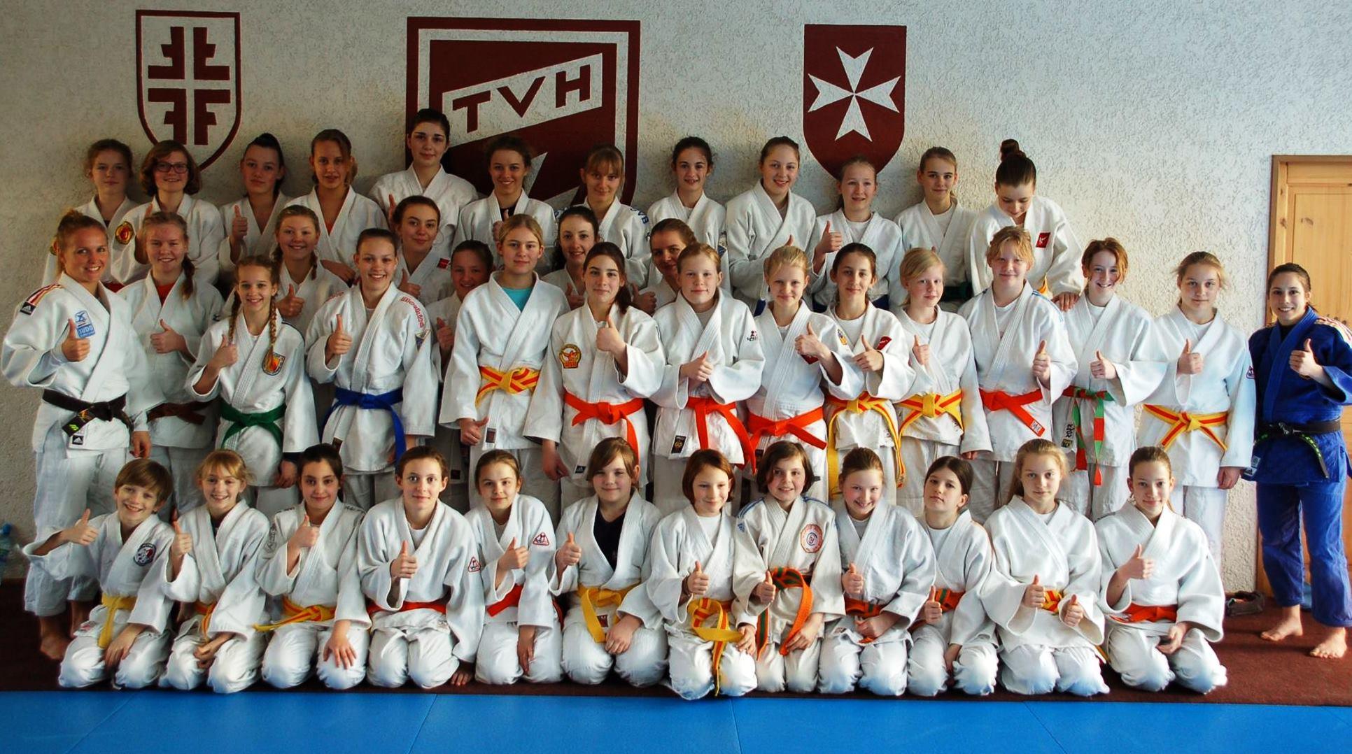 Über 40 Ippon Girls in Heitersheim