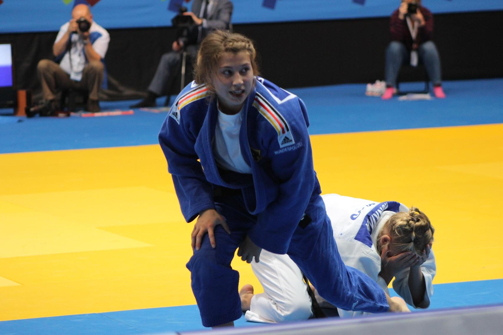 Gold bei den Europameisterschaften u23 für Sappho Coban