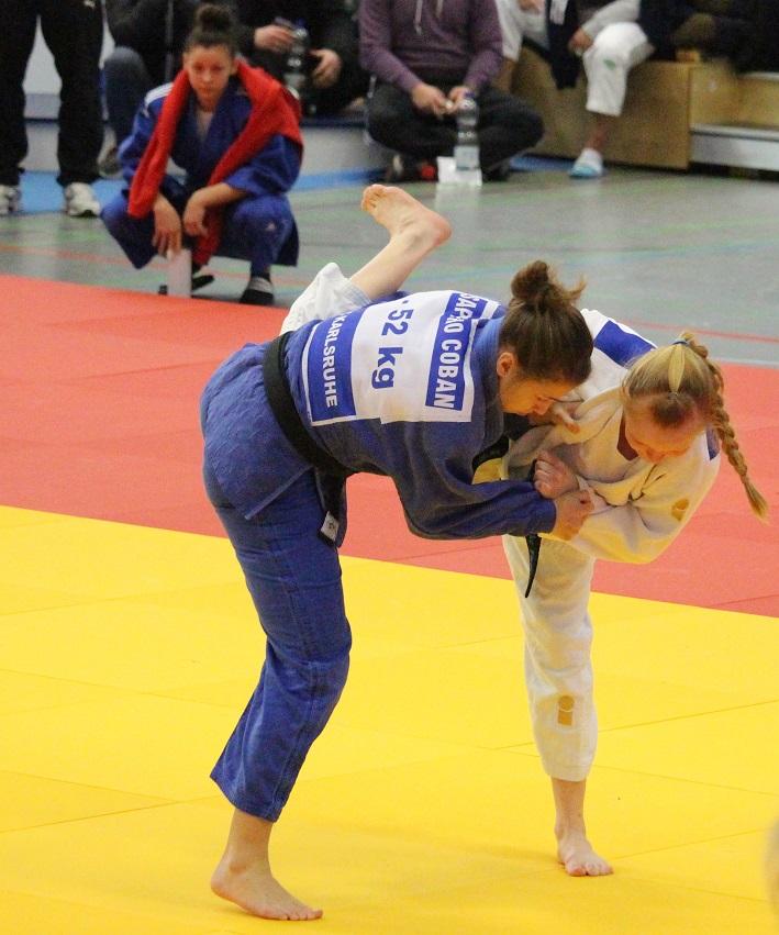 Europameisterschaften mit Sappho Coban
