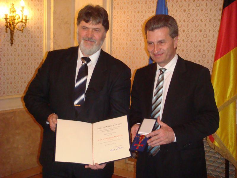 Bundesverdienstkreuz für den Präsidenten des Württembergischen Judo Verbandes