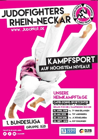1. Bundesliga Gruppe Süd - Judofighters Rhein-Neckar (Eppelheim)