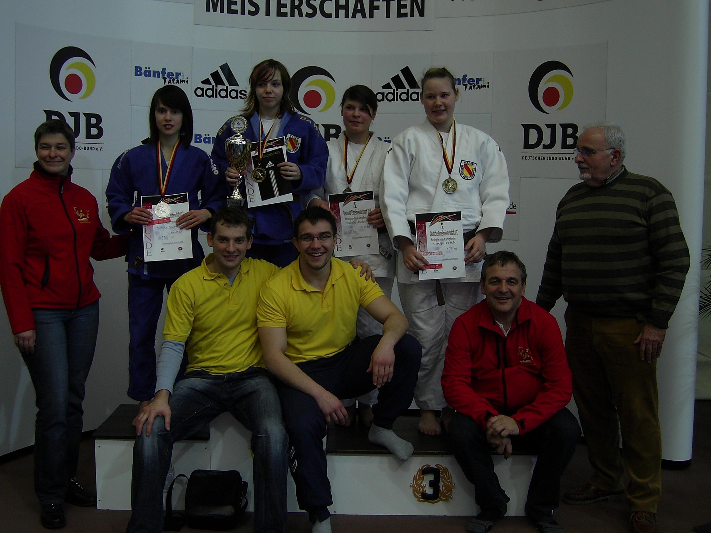 Deutsche EM der Fu 17 in Homburg/Saar