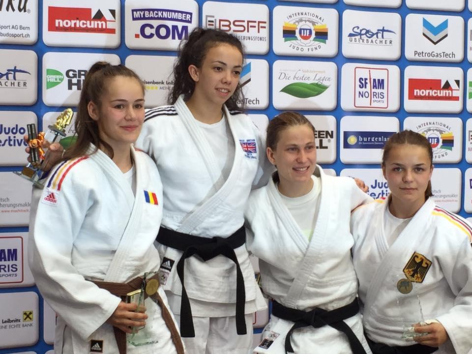 Bronze für Patrycia Szekely beim EJC (Leibnitz)
