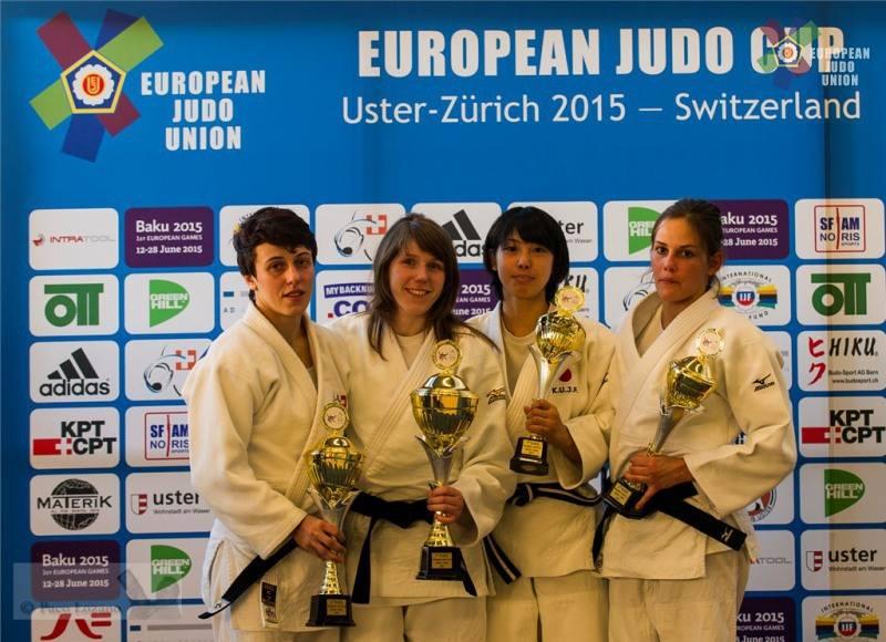 Gold für Thumm beim Swiss Open in Uster