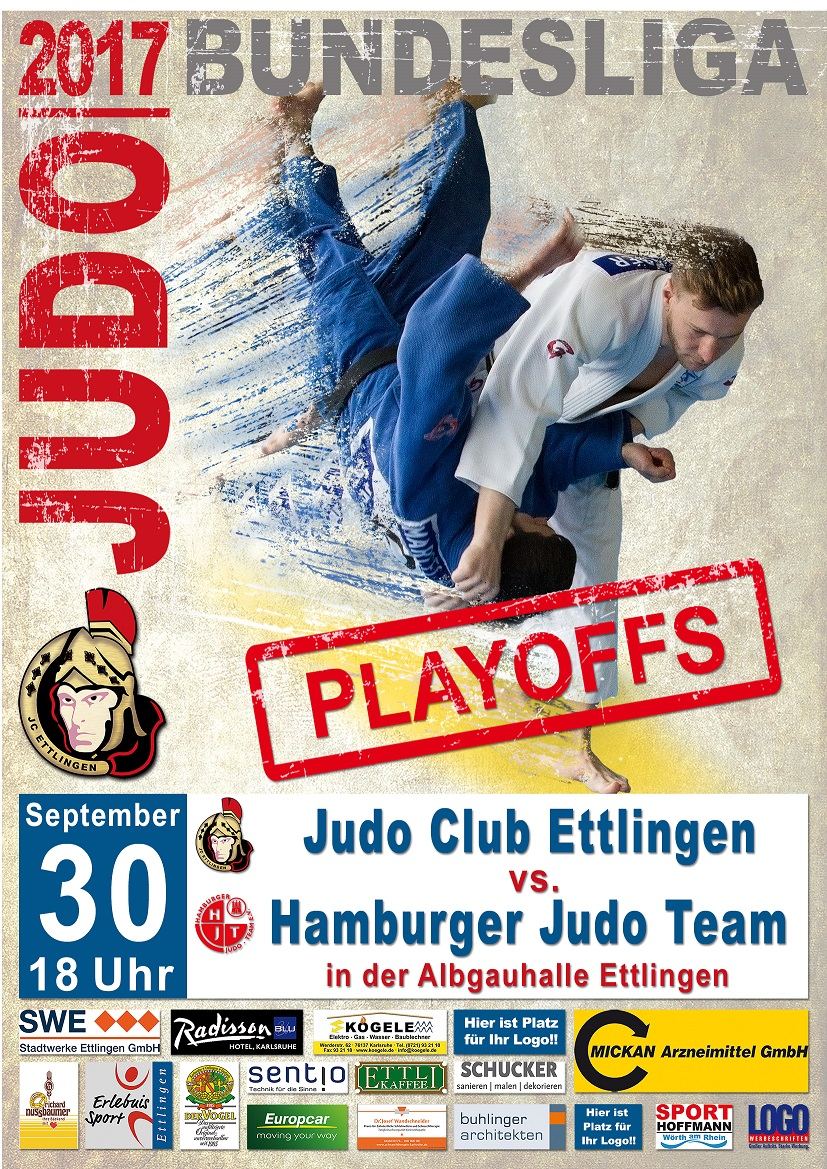 Playoffs JC Ettlingen : Hamburger JT