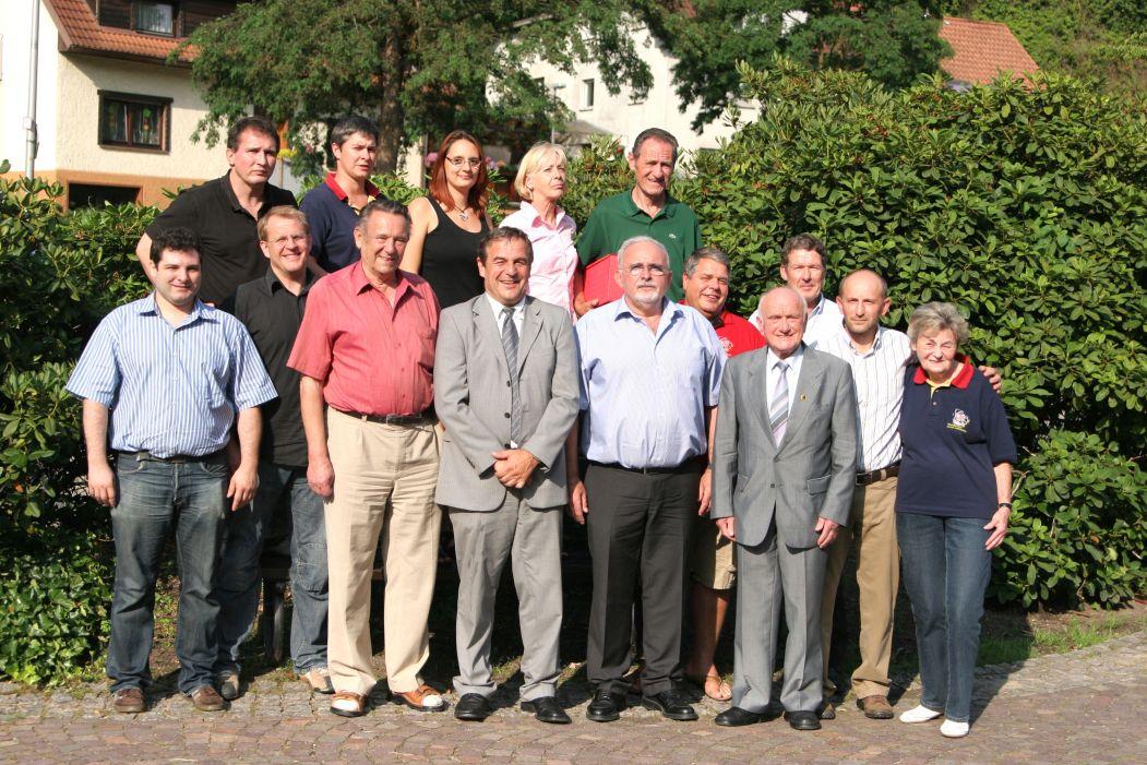 Mitgliederversammlung des BJV in Bühlertal am 28.06.09