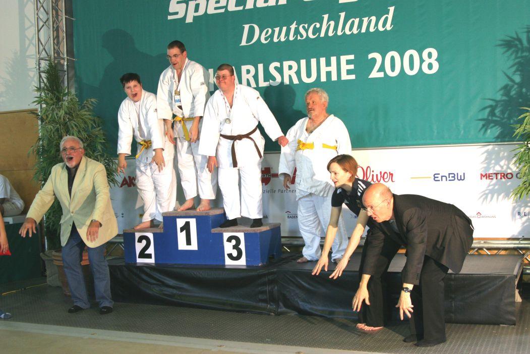 vorbildliche Athletin und Deutsche Hochschulmeisterin Severine Pesch