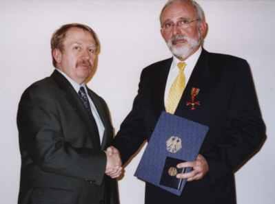 Norbert Nolte Bundesverdienstkreuz am Bande